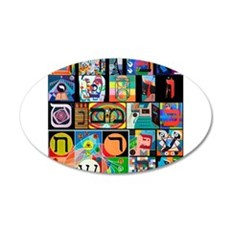 The Hebrew Alphabet Wall Decal