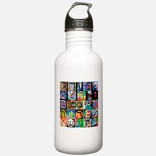 The Hebrew Alphabet Water Bottle