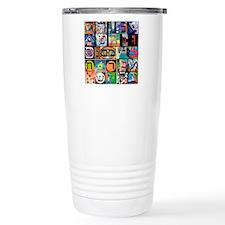 The Hebrew Alphabet Travel Mug