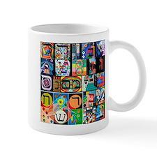 The Hebrew Alphabet Mugs