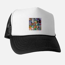 The Hebrew Alphabet Trucker Hat