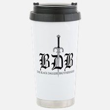 Bdb Dagger Logo Stainless Steel Travel Mug