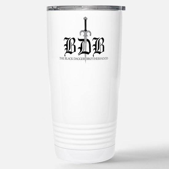 Bdb Dagger Logo Stainless Steel Travel Mug