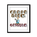 Carpe Diem Otiosam m Framed Panel Print