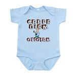 Carpe Diem Otiosam m Infant Bodysuit