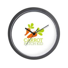 Carrot Patch Kid Wall Clock