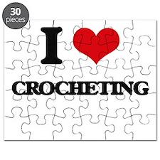 I love Crocheting Puzzle