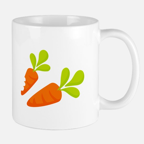 Two Carrots Mugs