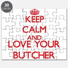 Keep Calm and love your Butcher Puzzle