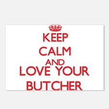 Keep Calm and love your B Postcards (Package of 8)