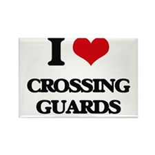 I love Crossing Guards Magnets