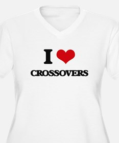 I love Crossovers Plus Size T-Shirt