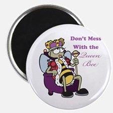 """Don't Mess With Queen Bee 2.25"""" Magnet (10 pack)"""