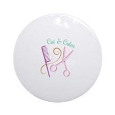Cut & Color Ornament (Round)