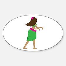 Hula Girl Decal