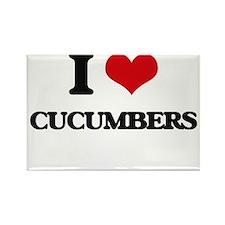 I love Cucumbers Magnets