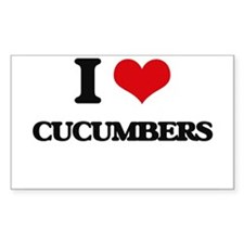 I love Cucumbers Decal