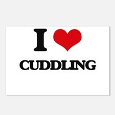 I love Cuddling Postcards (Package of 8)