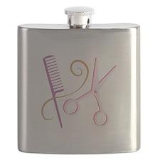 Barber Tools Flask