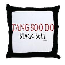 Tang Soo Do Black Belt 1 Throw Pillow