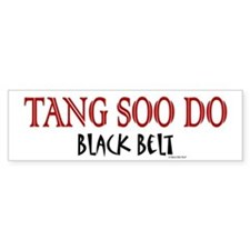 Tang Soo Do Black Belt 1 Bumper Bumper Sticker