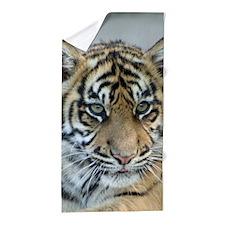 Tiger011 Beach Towel