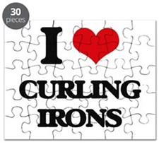 I love Curling Irons Puzzle