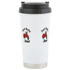 Cute Vespa Travel Mug