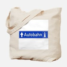 Autobahn Sign, Germany Tote Bag