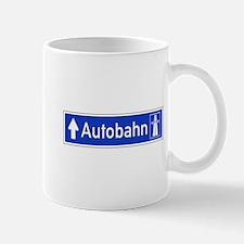Autobahn Sign, Germany Mug