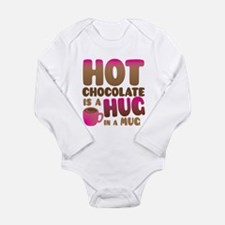 HOT Chocolate is a HUG in a MUG Body Suit