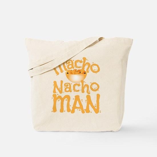 MACHO nacho man Tote Bag
