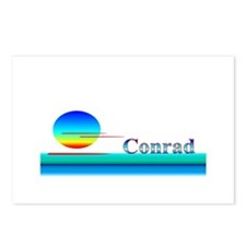 Conrad Postcards (Package of 8)
