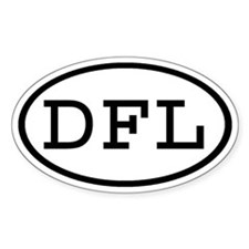 DFL Oval Oval Decal