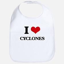 I love Cyclones Bib