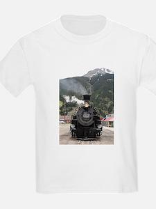 Steam train engine Colorado, USA 4 T-Shirt
