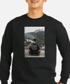 Steam train engine Colorado, U Long Sleeve T-Shirt