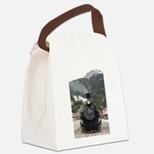Steam train engine Colorado, USA Canvas Lunch Bag