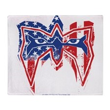 Warrior Usa Throw Blanket