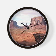 Monument Valley, John Ford's Point, Uta Wall Clock
