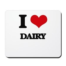 I Love Dairy Mousepad