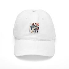 Vintage Dog Hobos Baseball Cap