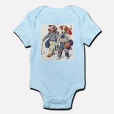 Vintage Dog Hobos Infant Bodysuit