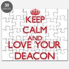 Keep Calm and love your Deacon Puzzle