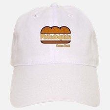 Philly Cheesesteak Baseball Baseball Cap