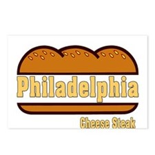 Philly Cheesesteak Postcards (Package of 8)
