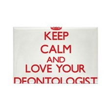 Keep Calm and love your Deontologist Magnets