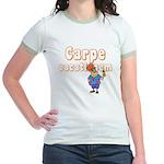Carpe Vacationem m Jr. Ringer T-Shirt