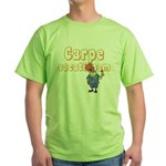 Carpe Vacationem m Green T-Shirt
