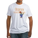 Carpe Vacationem m Fitted T-Shirt